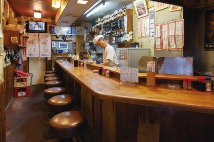 Interior Restoran Kusushan
