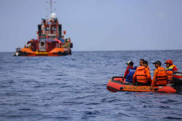 Dikira Badan Lion Air JT 610, Objek Besar di Laut Karawang Ternyata Bangkai Kapal