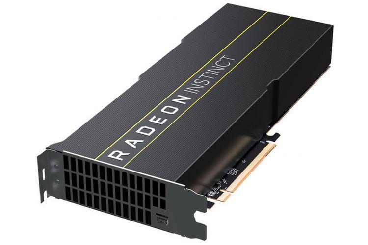 Kartu grafis dengan GPU AMD seri Radeon Instinct