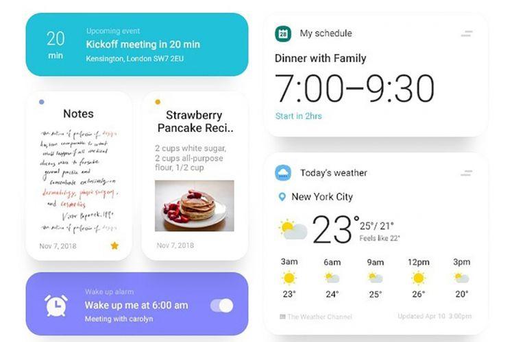 Tampilan Samsung One UI