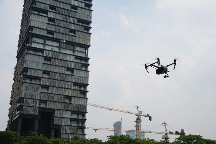 Teknologi Drone Lampaui Kamera Konvensional