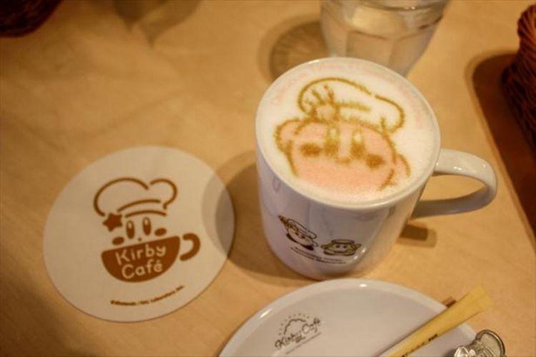 Minuman Art Collection Au Lait seharga 1.980 yen (belum termasuk pajak)