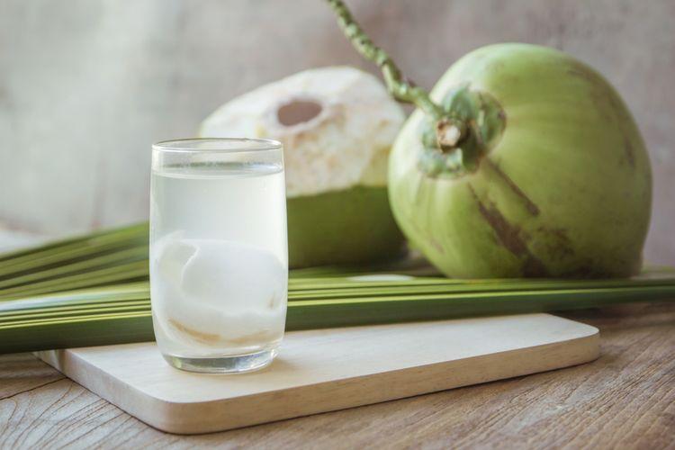 Ilustrasi air kelapa