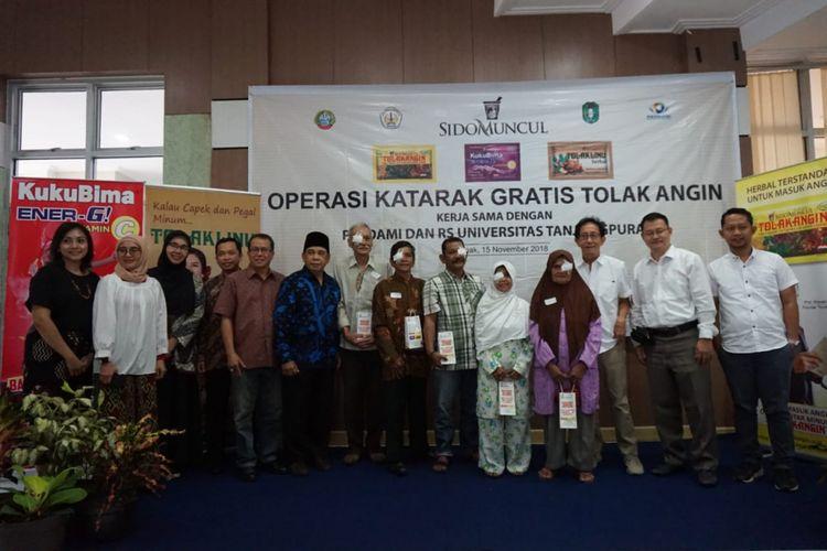 Operasi Katarak Gratis yang diadakan oleh Sido Muncul telah membantu 51.648 pasien yang tersebar di 237 rumah sakit atau klinik mata dari 211 kota/kabupaten di 27 provinsi di Indonesia.