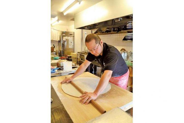 Pembuatan udon