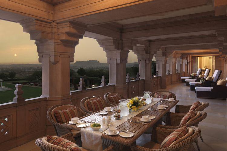 Maharani Suite, merupakan ruangan terbesar yang aslinya memang didesain khusus untuk sang ratu, Maharani Badan Kanwan.