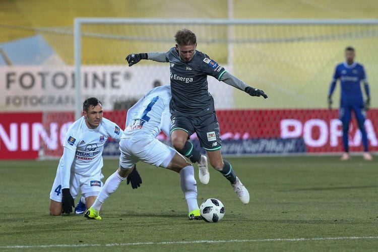 Pertandingan antara Lechia Gdansk versus Bruk-Bet Termalika Nieciecza di babak 16 besar Piala Polandia, Rabu (05/12/2018).