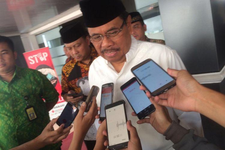 Jaksa Agung RI Muhammad Prasetyo saat ditemui di Kantor Kejaksaan Agung, Jakarta Selatan, Jumat (7/12/2018).