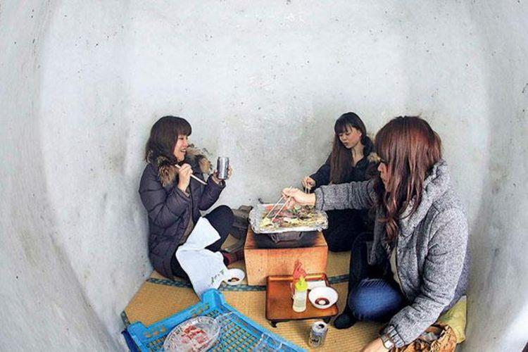 barbecue di dalam Kamakura