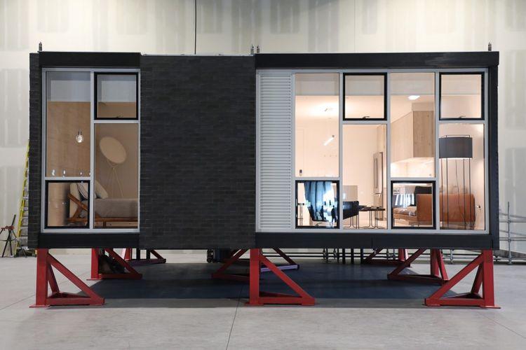 Makin Canggih, kini Membangun Apartemen Bisa dengan Sistem Modular