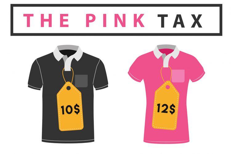 Ilustrasi pink tax