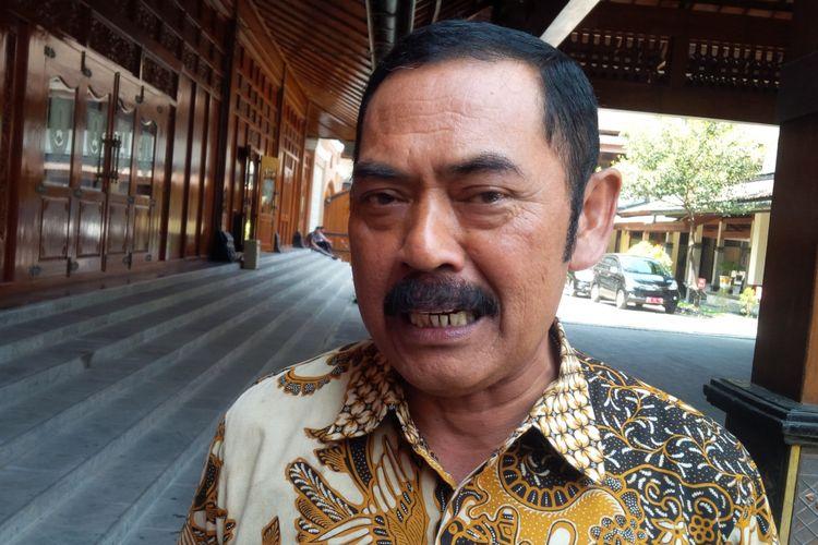 Ketua DPC PDI-P Kota Solo yang juga Wali Kota Surakarta FX Hadi Rudyatmo.