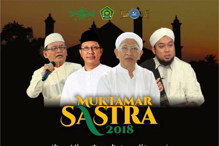 Sastrawan Indonesia menggelar Muktamar Sastra di pesantren di Situbondo.