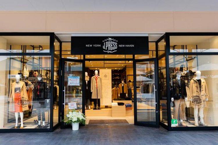J.Press, toko khusus setelan pria pertama yang dibuka di outlet