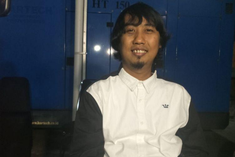 Ade Jigo saat ditemui usai mengisi sebuah acara di kawasan Mampang, Jakarta Selatan, Kamis (3/1/2019).