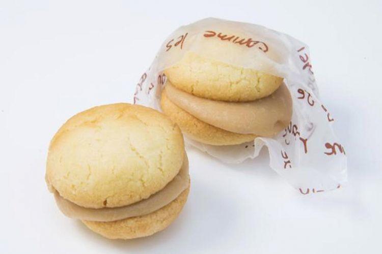 """""""Caramel Sand Horohoro Cookie"""", biskuit sandwich kecil bulat yang dengan bentuk yang menggemaskan"""