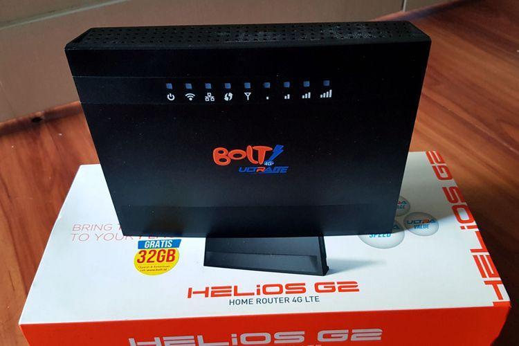 Router Bolt Helio G2 BL500 merupakan salah satu perangkat yang bisa diunlock secara mandiri oleh pengguna