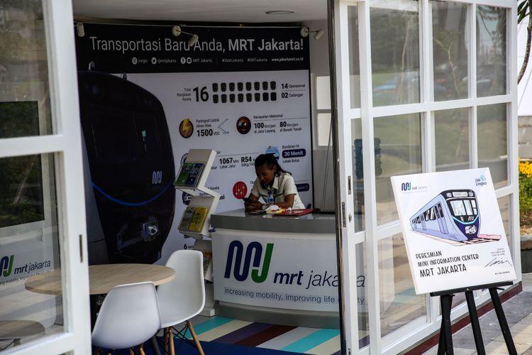 Pt Mrt Jakarta Buka Kesempatan Bagi Warga Naik Mrt Mulai 26 Februari