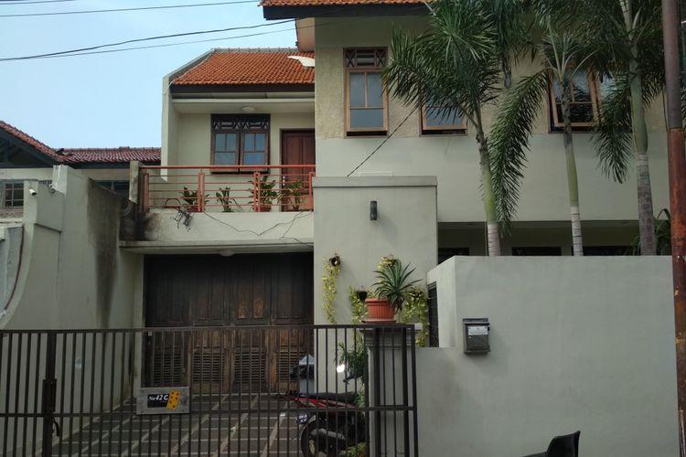 Kondisi Terbaru Rumah Laude M. Syarif di Jalan Kalibata Selatan, Jakarta Selatan