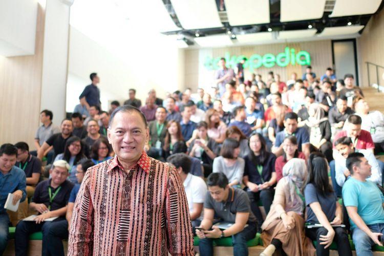 Mantan Gubernur BI, Agus Wartomardojo resmi menjabat sebagai Komisaris Utama Tokopedia