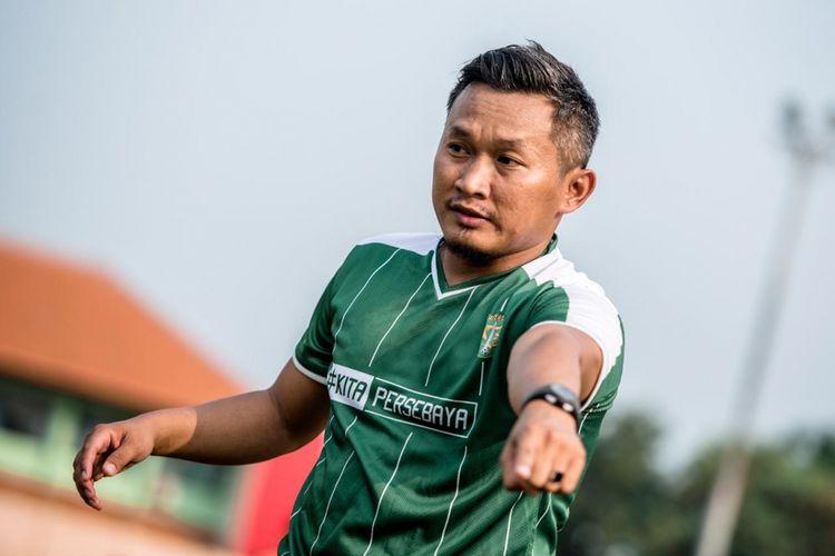 Pelatih fisik Persebaya Surabaya, Rudy Eka Priyambada.