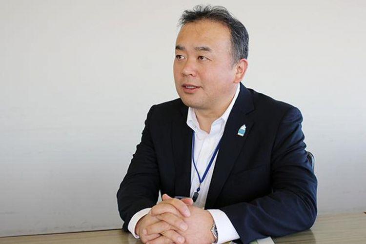 Kepala Departemen Perencanaan Promosi dan Revitalisasi Daerah, Koji Sekine