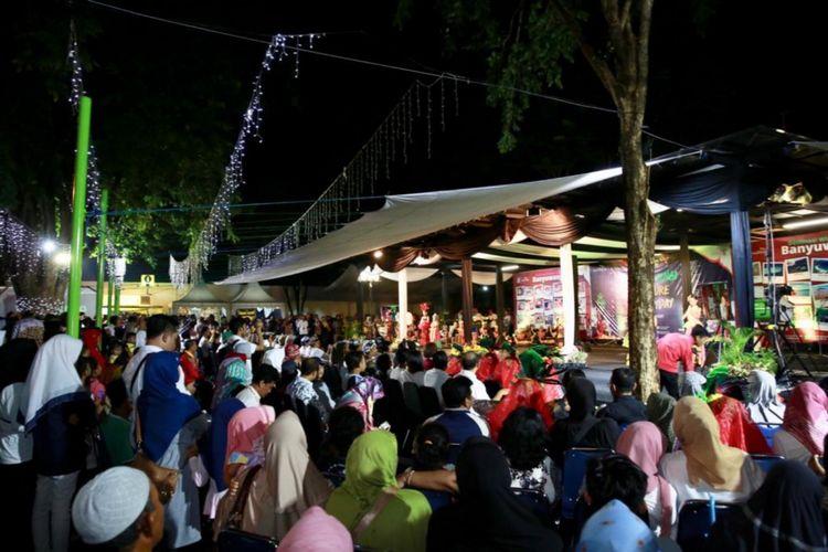 Culture Everyday digelar di Taman Blambangan Banyuwangi dan bisa dinikmati oleh masyarakat umum secara gratis