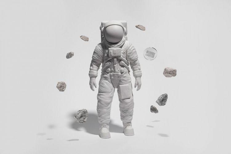 Patung Moon Man dari Billionaire Boys Club