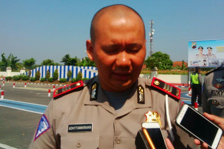 Kasatlantas Polres Klaten AKP Adhytiawarman Gautama Putra.