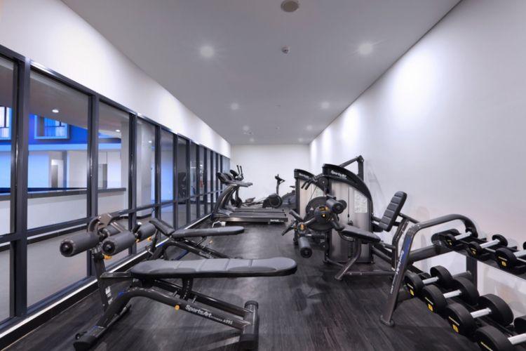Gym Center Hotel Harper Palembang.
