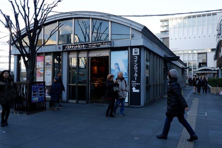 Pusat penjualan tiket bus