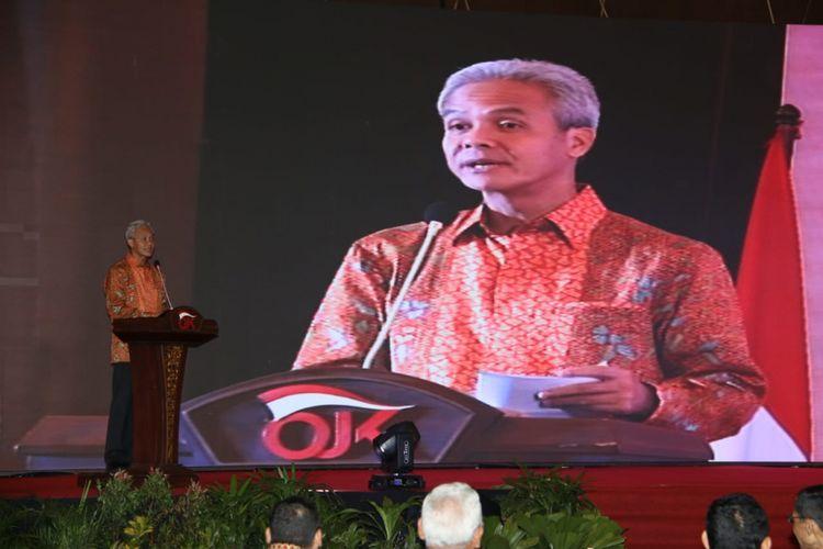 Ganjar Pranowo Sebut Pembakaran Kendaraan di Jateng Tak Terkait Politik
