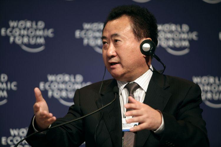 Wang Jianlin dalam gelaran World Economic Forum