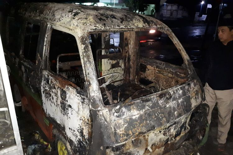 Kasus Pembakaran Mobil Kembali Terjadi, Kali Ini di Grobogan