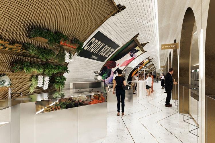 Stasiun ini merupakan terminal pertama dari jalur 10 Paris Metro.