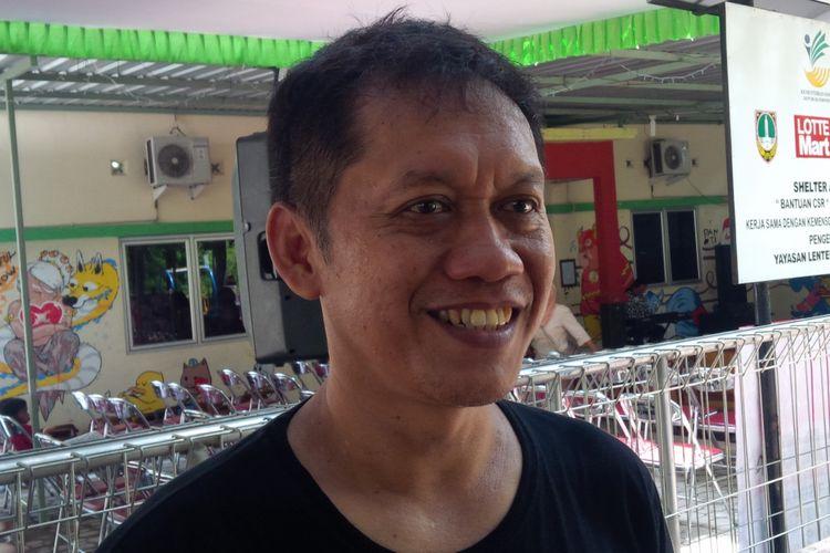 Ketua Yayasan Lentera Solo Yunus Prasetyo ditemui di Solo, Jawa Tengah, Kamis (14/2/2019).