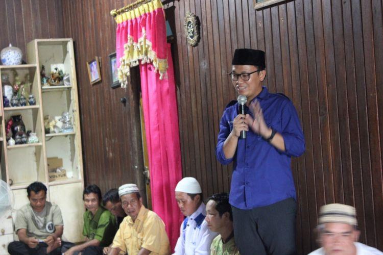 Calon anggota legislatif DPRD provinsi Kalimantan Tengah Asrari Puadi.