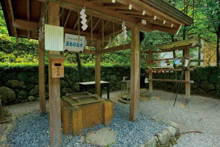Niu no Manai yang juga dipanggil air penyuci.