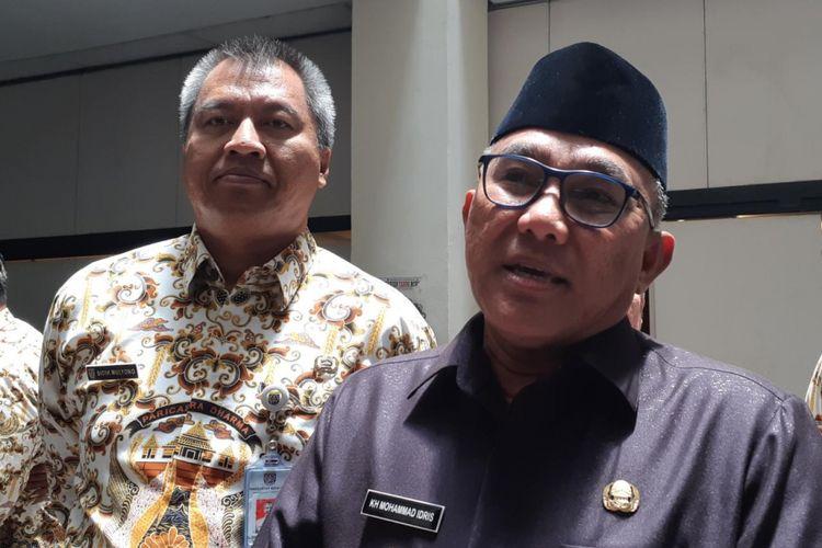 Wali Kota Depok, Mohammad Idris di Balai Kota Depok, Kamis (28/2/2019).