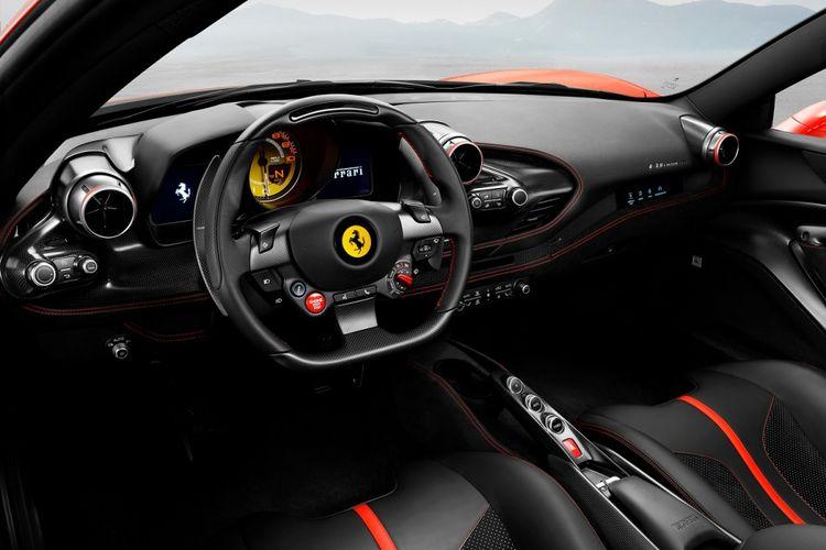 F8 Tributo Supercar Terbaru Ferrari