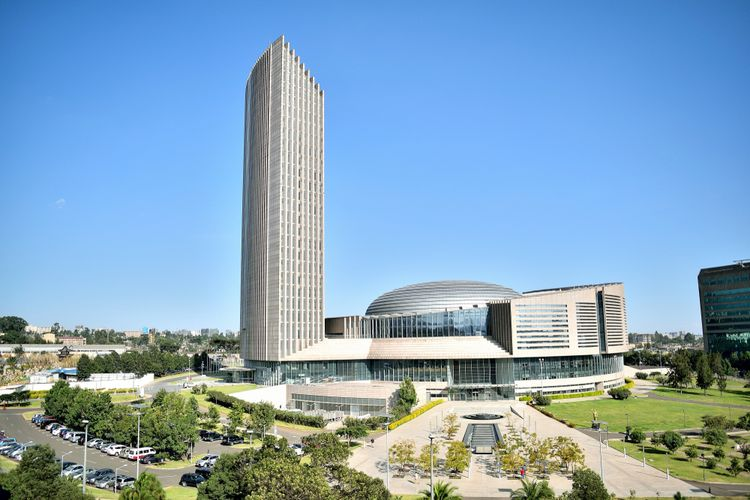 Addis Ababa, ibukota Ethiopia.