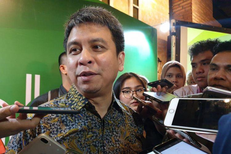 Ridzki Kramadibrata, President of Grab Indonesia.