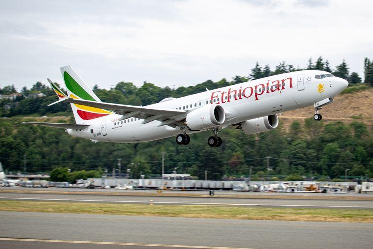 B737 MAX 8 Ethiopian Airlines.