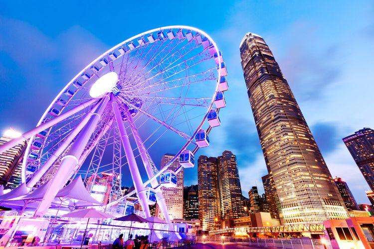 ilustrasi Kota Hong Kong