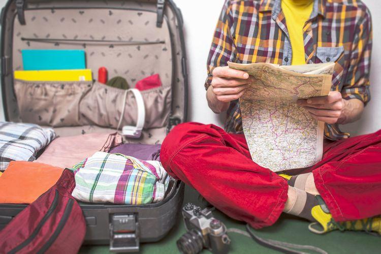 ilustrasi menyiapkan liburan