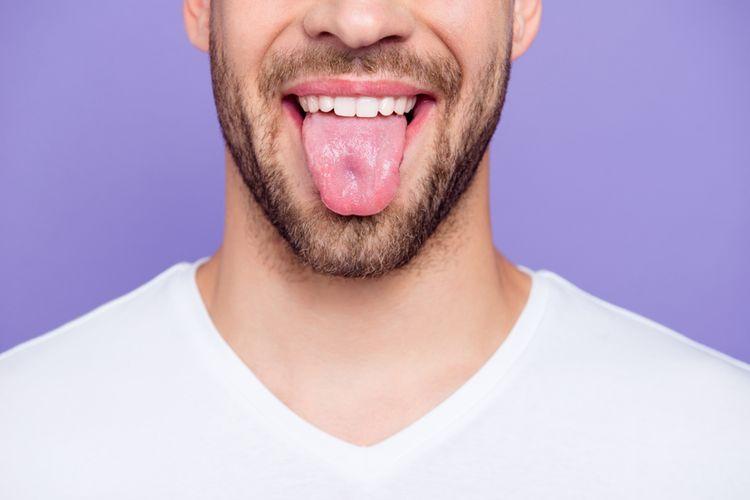 Ilustrasi lidah