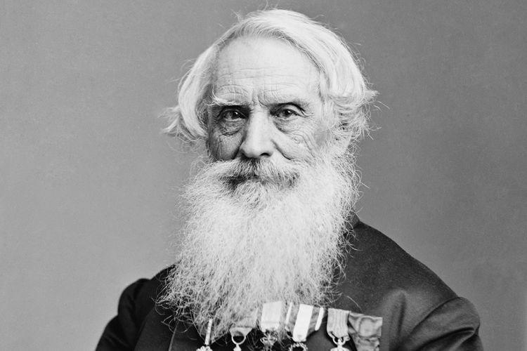 Samuel Morse, penemu Telegraf dan Sandi Morse.