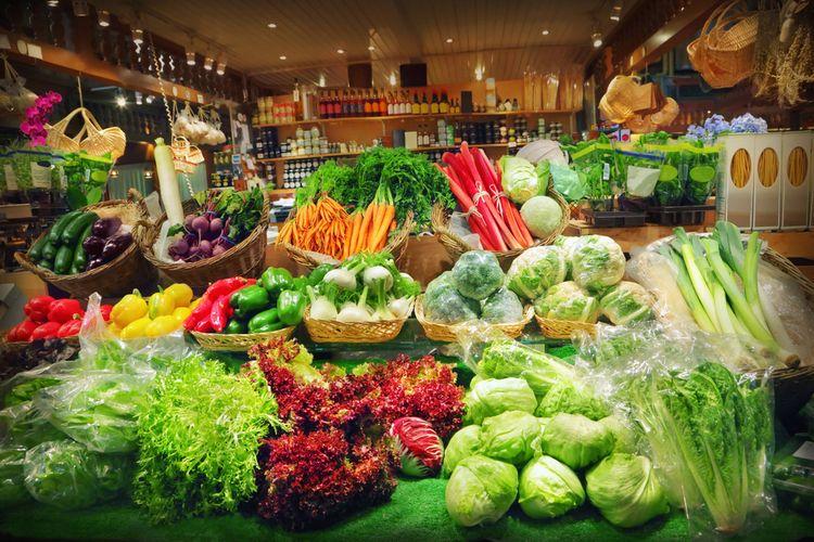 Ilustrasi sayuran segar