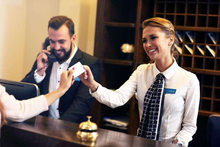 ILUSTRASI - Bekerja di hotel