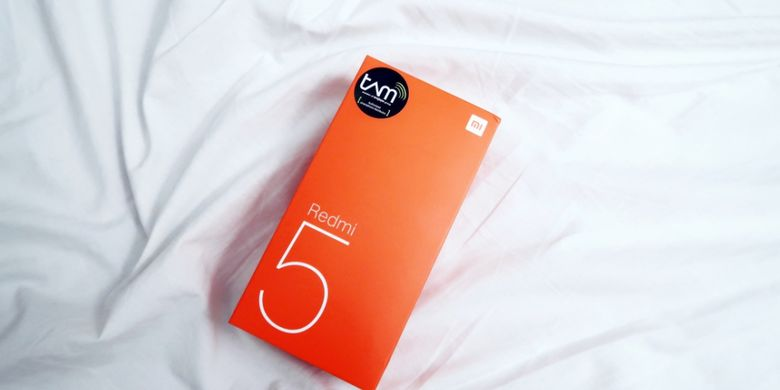 Isi Kotak Kemasan Xiaomi Redmi 5